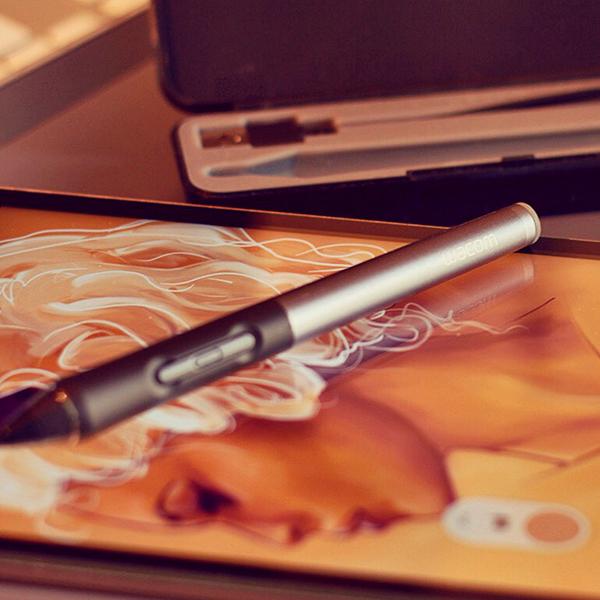 digital paint draw illustrati in sketch iPad Digital Art  Intuos Stylus2 Enrico Manini