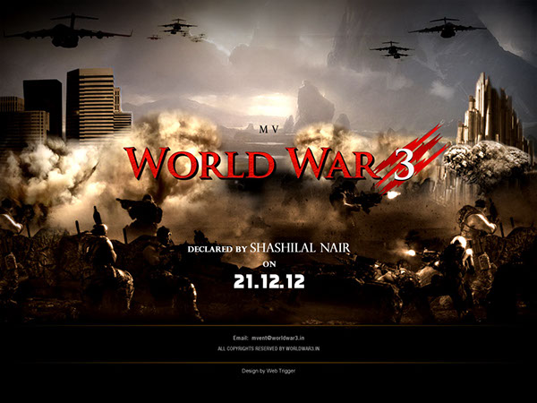 World War 3 On Behance