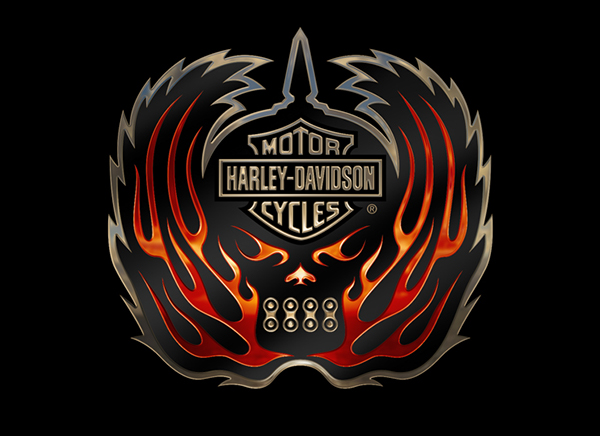 Harley Davidson Emblem: Harley-Davidson Emblems On Behance