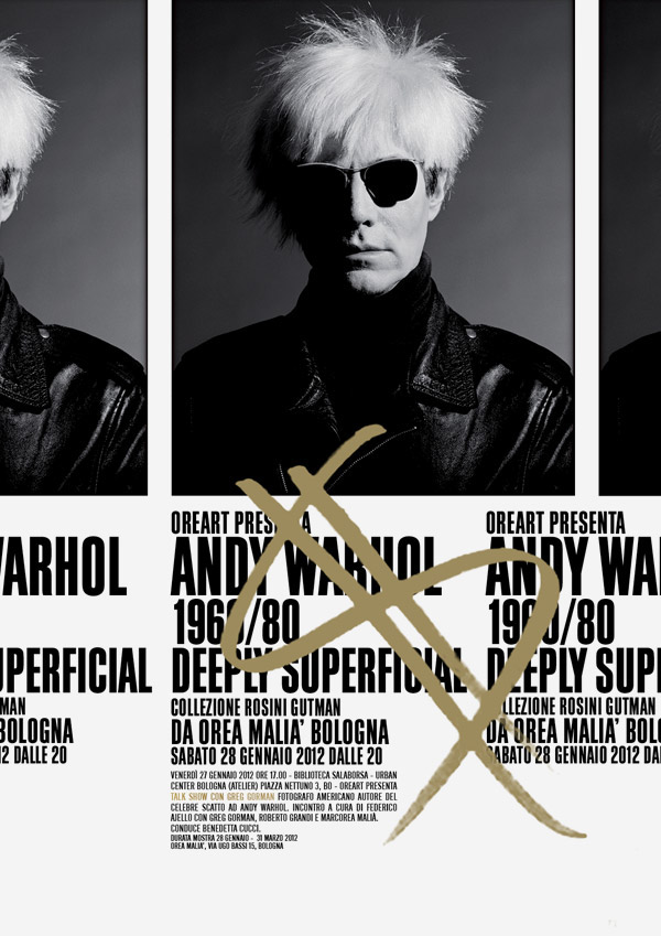 Andy Warhol,Exhibition ,art,poster,catalog,Italy,editorial,photo