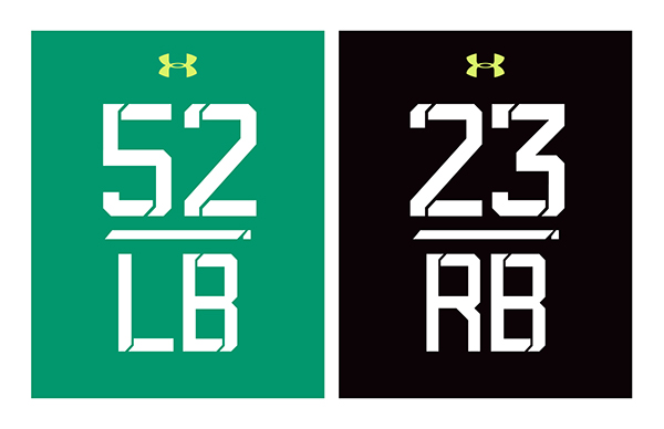 NFL Combine 2015 Font on Behance