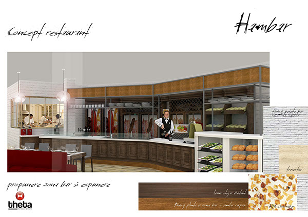 Restaurant design proposal on behance
