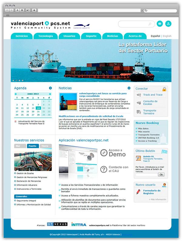 Web app newsletter port