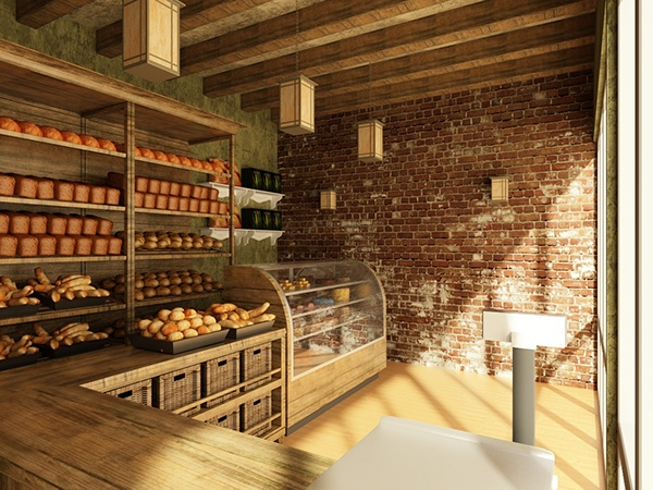 A small bakery on behance for Classic house bakery