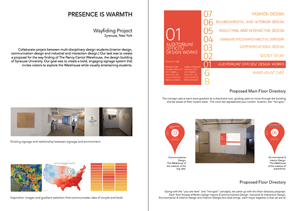 Portfolio 2015 Presence Is Warmth On Student Show