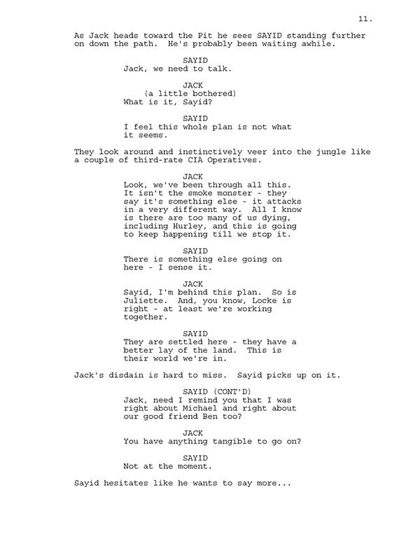 LOST (TV show) Spec Script on Behance  Tv