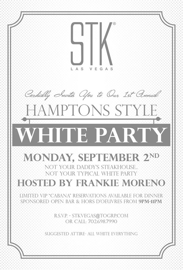 STK LAS VEGAS WHITE PARTY on Wacom Gallery