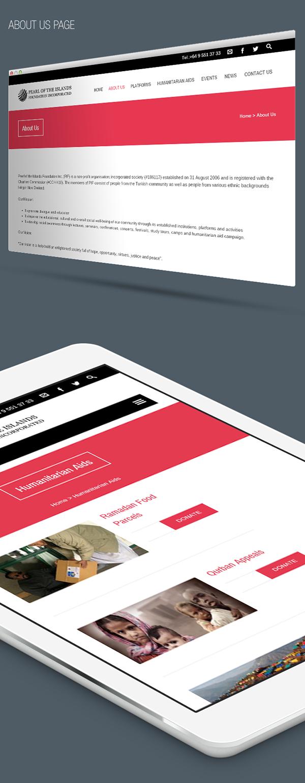Pif Web design Responsive creative Website foundation site