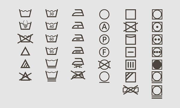 Laundry Symbols Meanings Image Collections Free Symbol And Sign