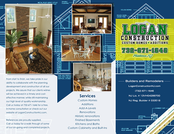 Logan Construction Brochure On Behance