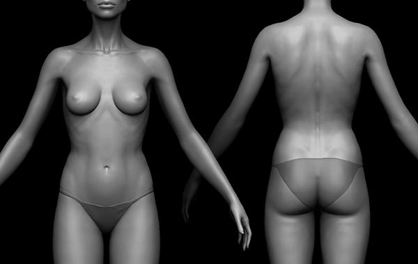 Modelling - Female Body on Behance