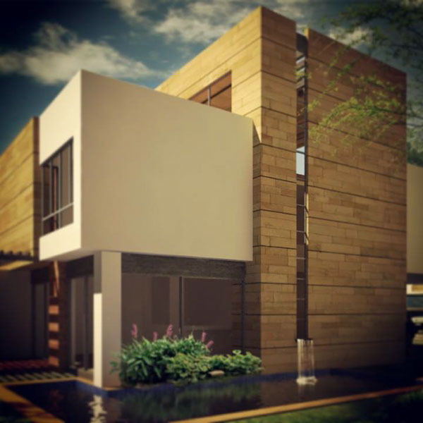 diseño design arquitectura casa Render 3D