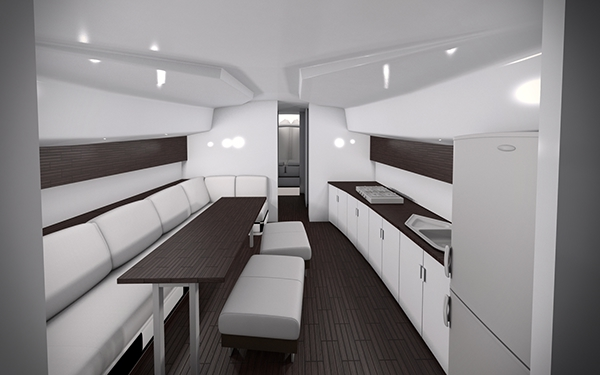 Small Boat Interior Ver 1 0 On Behance
