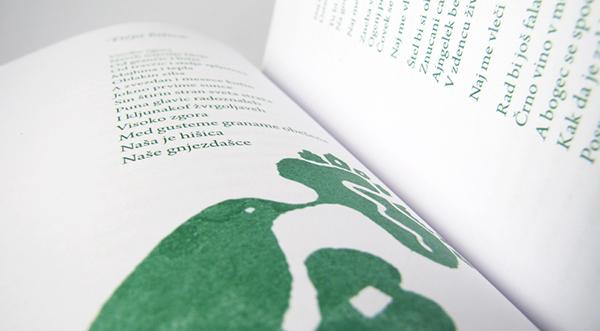 Poetry  book design poem book Prigorje Poetry Festival
