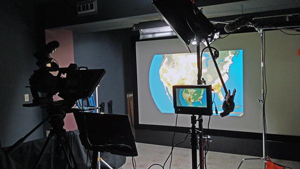 Teleprompter Operator camera assistant Gaffer grip