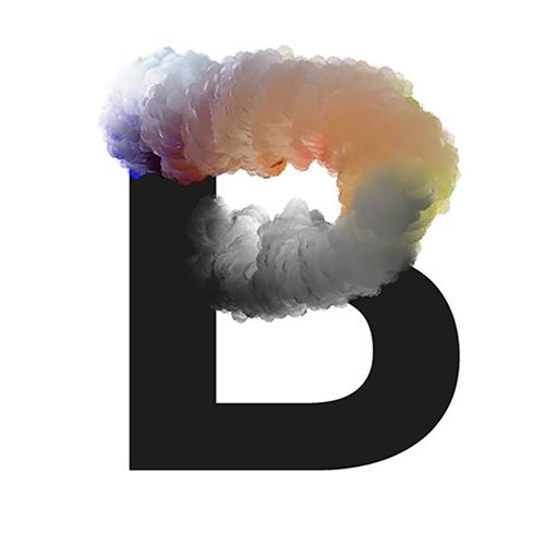 chemical cloud typo font jose bernabe letters colors chemicalcloud clouds