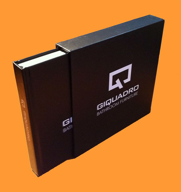 Hardback Book Paper Cover ~ Giquadro presentation book on behance