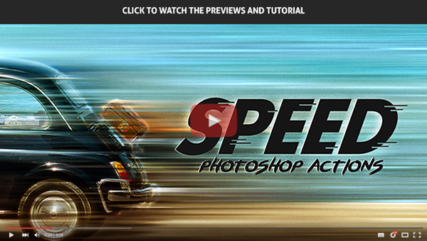 Speed - Photoshop Actions - 1