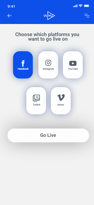 Live Streaming App Design on Student Show