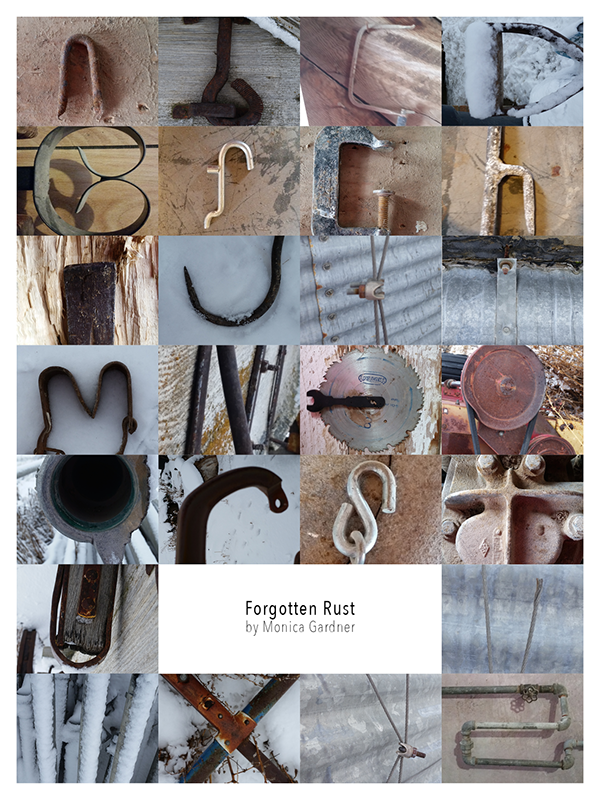 Letter Made Out Of Objects.Visual Alphabet On Behance