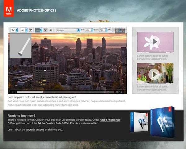 Adobe photoshop cs5 trial download
