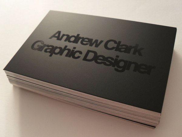 Business card design on behance colourmoves