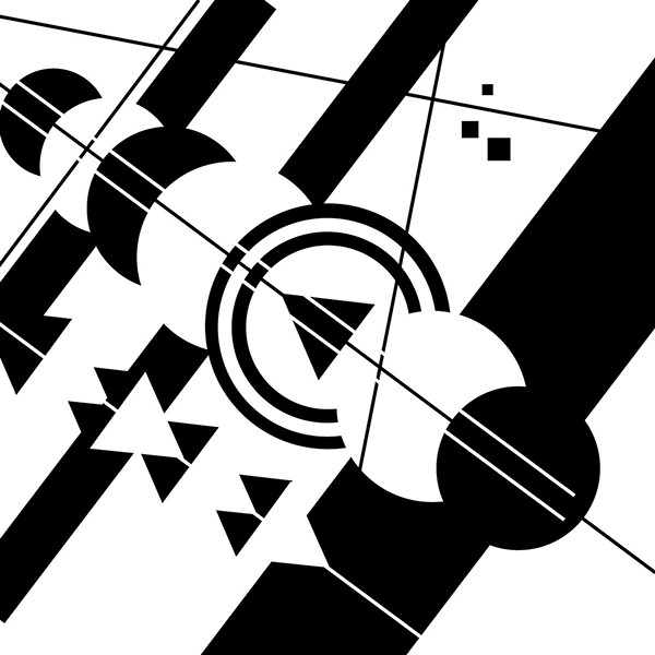 Line Composition Design : Intro to graphic design project shapes on behance