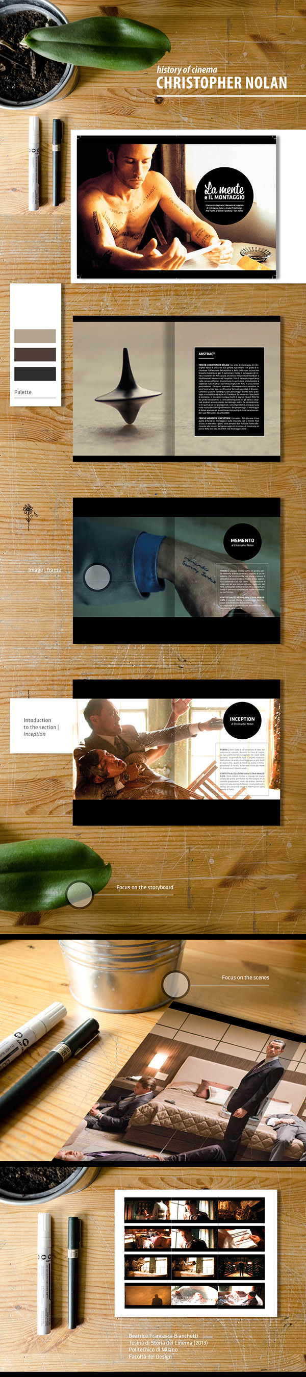 Thesis Film History Editorial Product On Behance