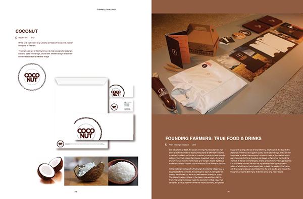 Nature organic brand magazine design