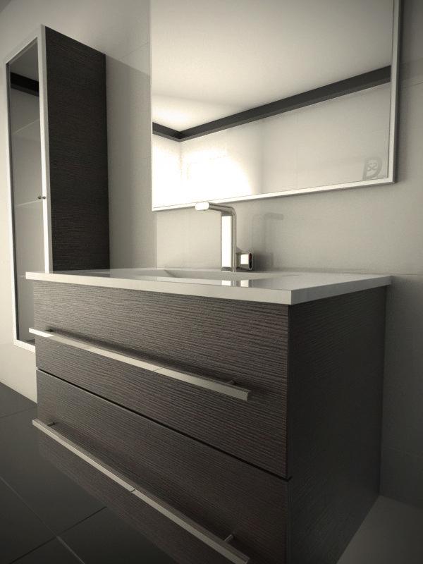 Bathroom 3d On Behance