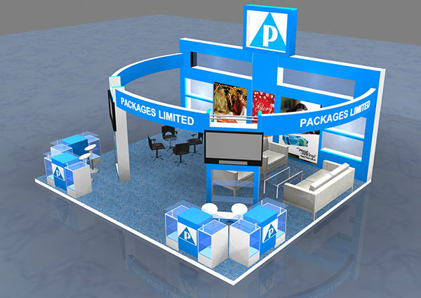 Exhibition Stand Circle : D exhibition stand designs on behance
