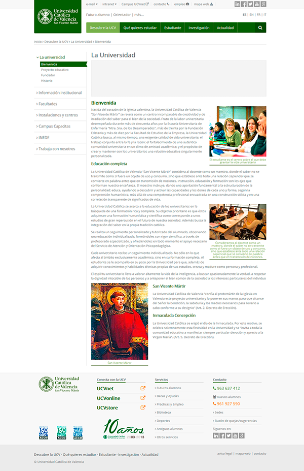 University Web RESTYLING DNN RESPONSIVE SKIN