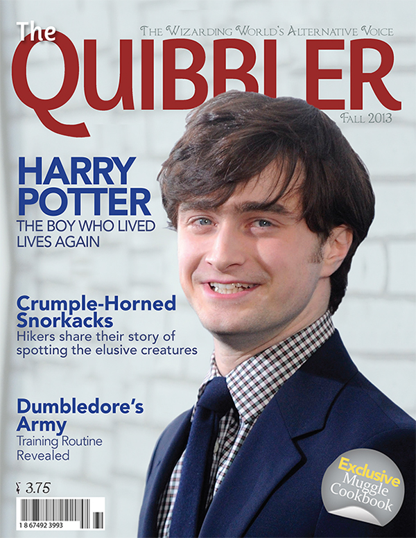 The Quibbler Magazine Cover on Behance