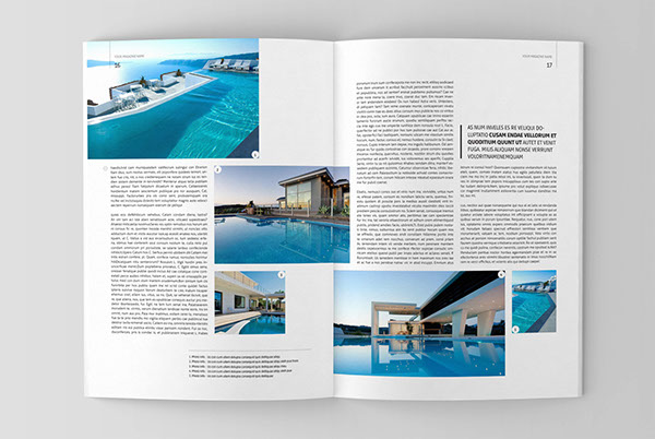 architecture magazine template on behance - Design Architecture Magazine