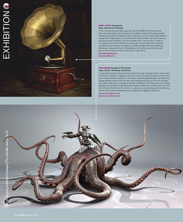 octopus demon sea monster tako