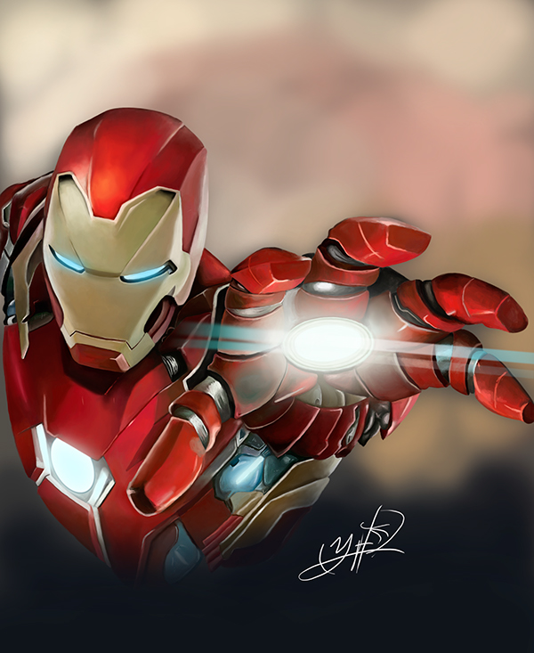Iron Man Civil War by Yordy Fernandez