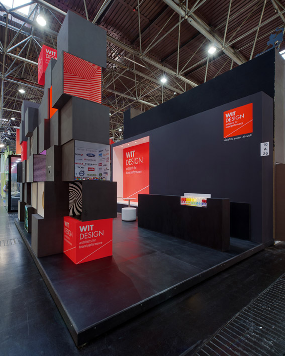 Exhibition Stand Design On A Budget : Stand wit design euroshop on behance