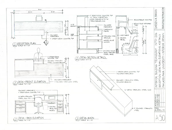 Construction Documents For A Small Office Spring 13 On Student Show