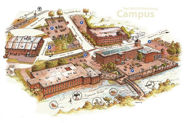 EBSCO Publishing Campus Map on RISD Portfolios