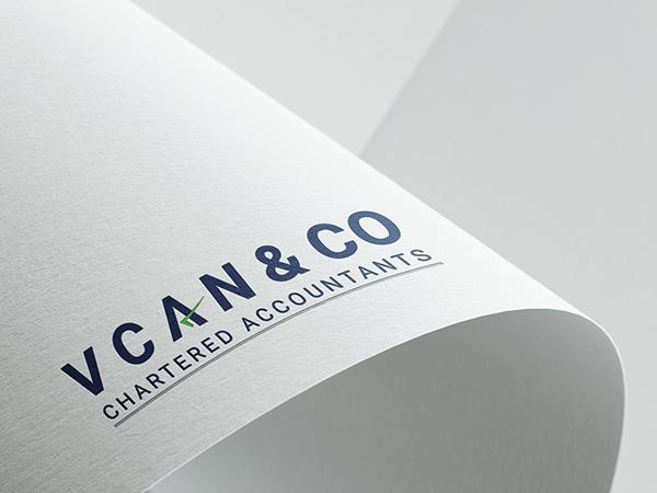 V CAN & Co. Logo Design