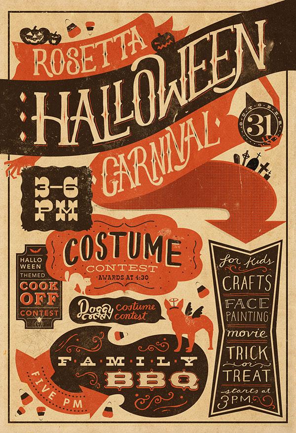 Rosetta Halloween Carnival on Behance