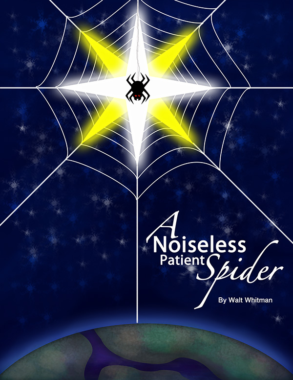 a noiseless patient spider essay A noiseless patient spider through the word choice in the poem a noiseless patient spider the poet, walt whitman, leads the reader to believe that the poem.