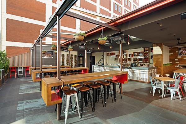 Aer bar european bier cafe on behance for Design industry melbourne