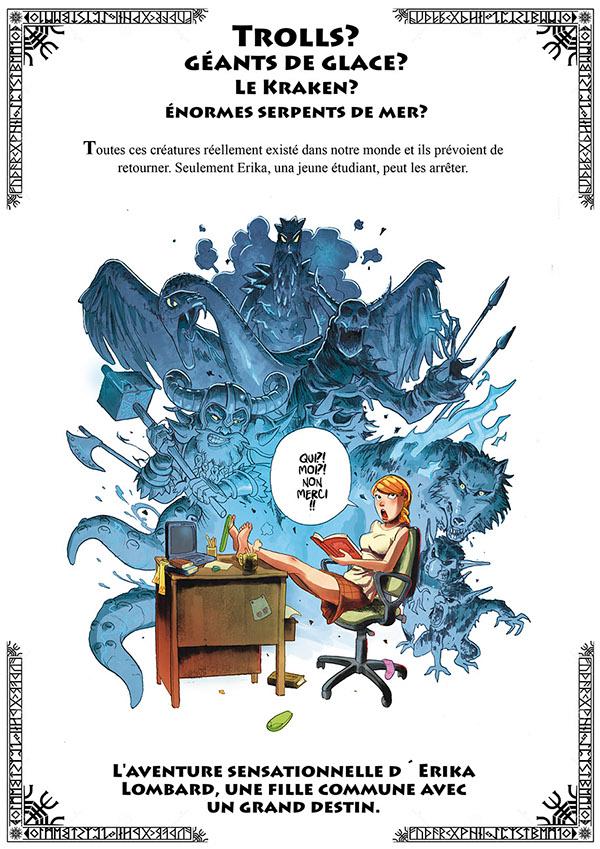 erika comic bd bande dessinée vikings