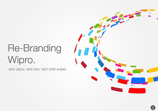 wipro technologies branding on behance