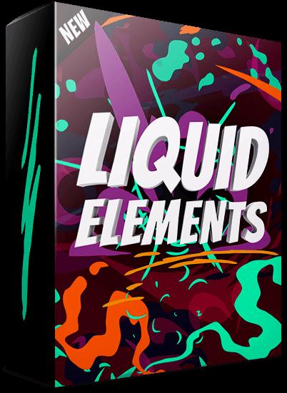 Liquid Elements - Animated Elements [Motion Graphics] on Behance