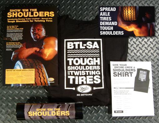 trucking industry bandag Bridgestone tires