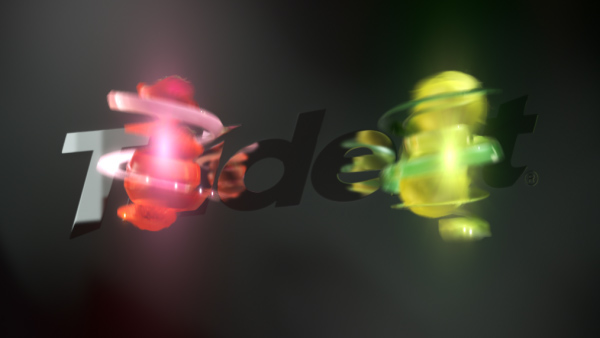 Trident chewing gum Fruit 3D