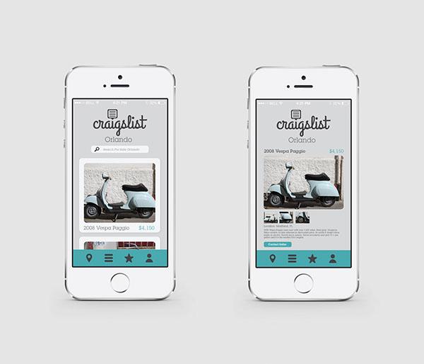 Craiflist Com: Craigslist On Behance