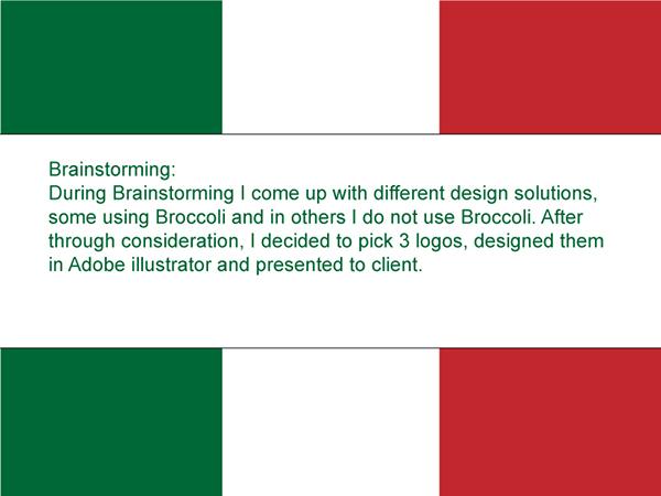 Logo Design veg logo vegetables guide logo italian logo